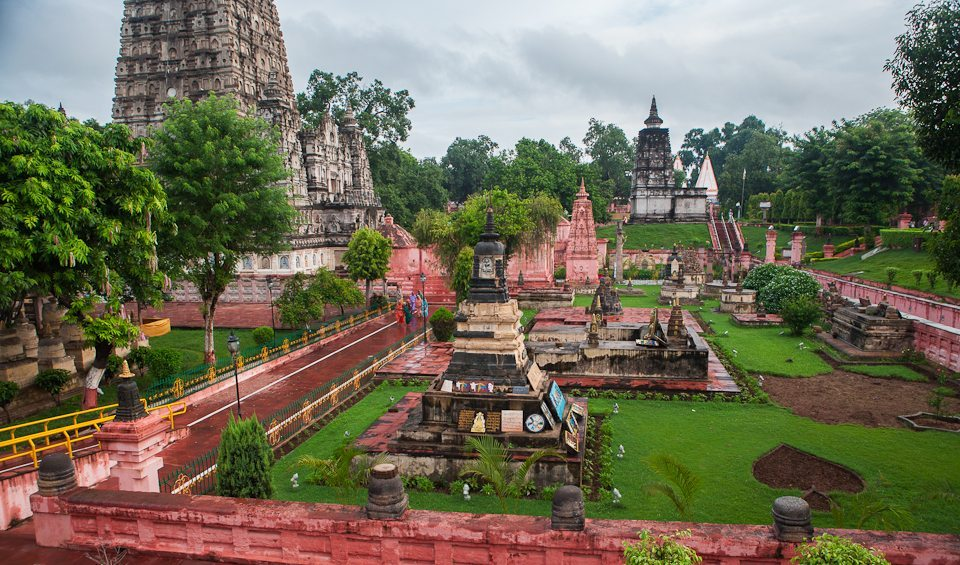mahabodhi temple The mahabodhi temple (the temple of great awakening), located in bodh gaya in gaya district, 96 km away from patna in bihar, india, is a notable buddhist temple.