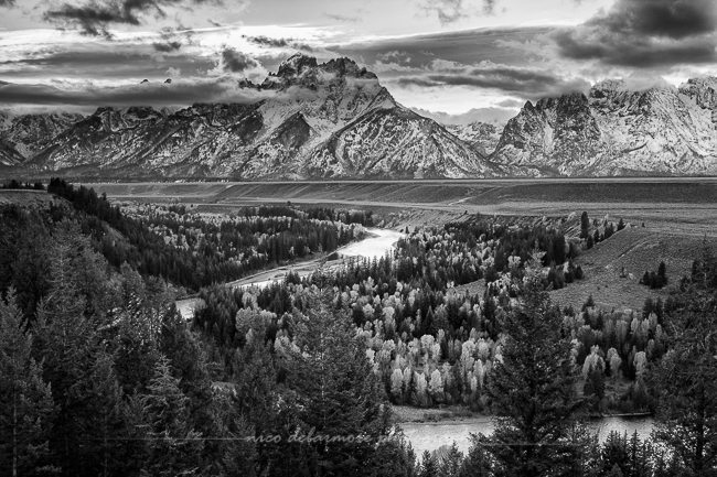 Afternoon Storm at Snake River Overlook
