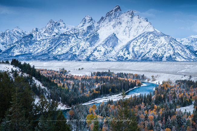 Autumn Morning at Snake River Overlook