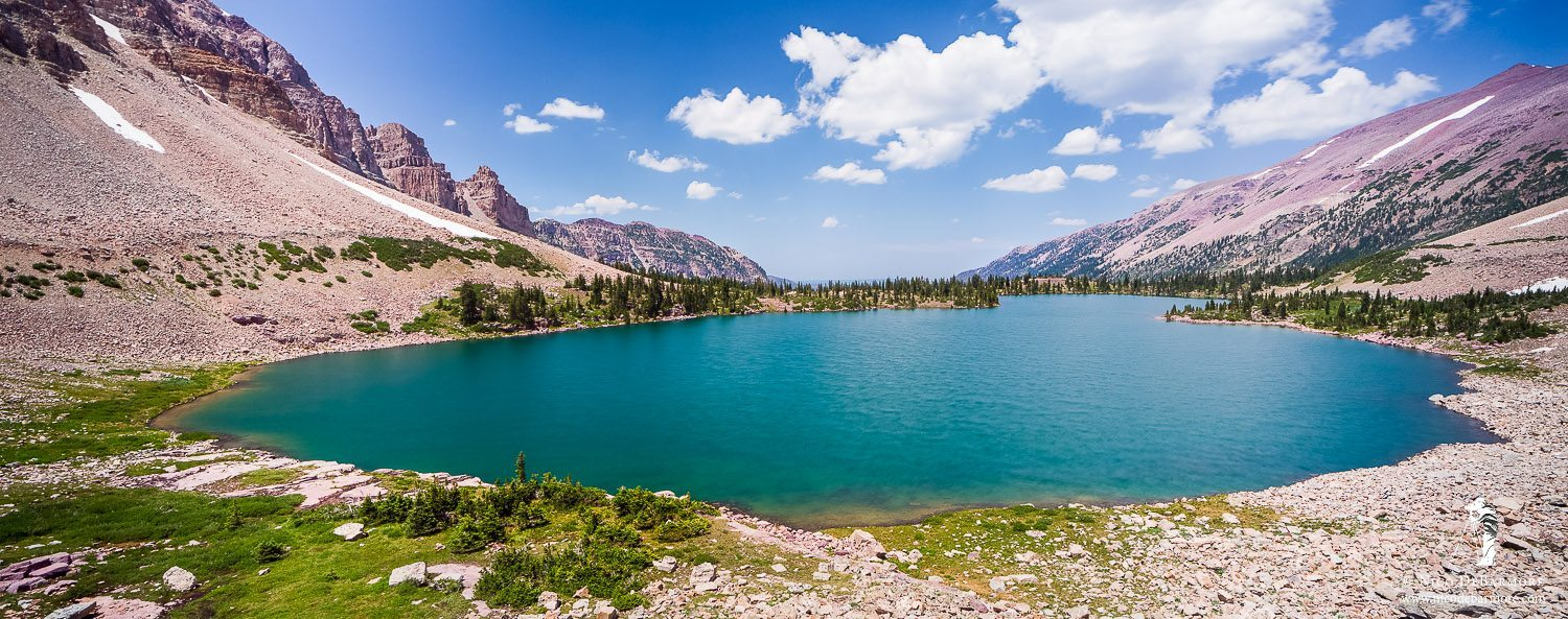 Amethyst Lake Panorama