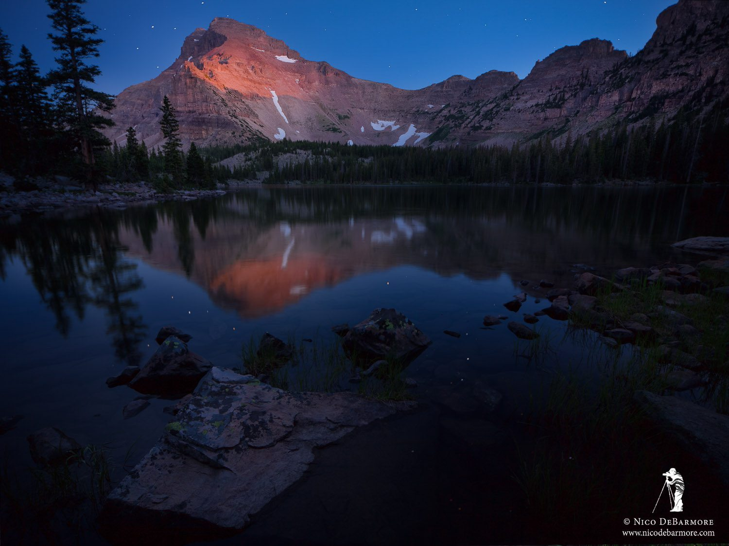 Ostler Lake Twilight