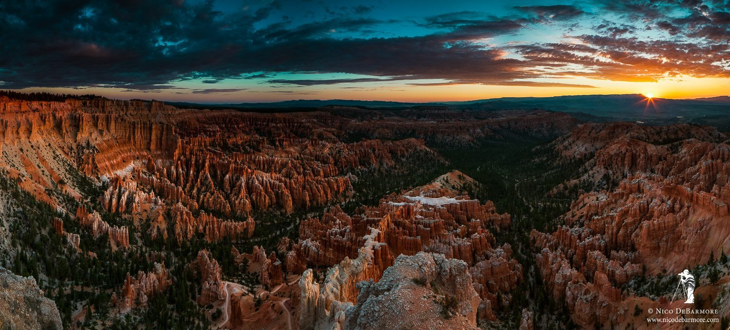 Bryce Canyon Morning Sunburst