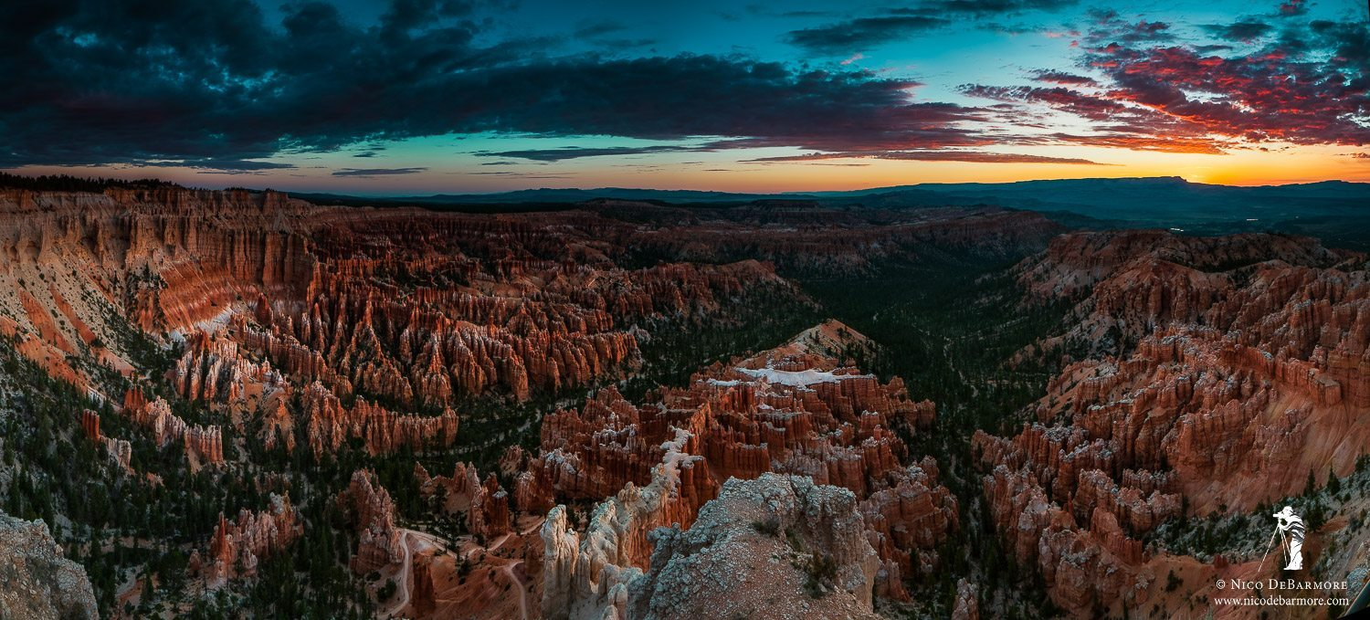 Bryce Canyon Red Clouds