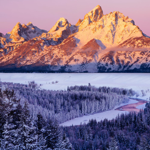 Winter in the Grand Tetons